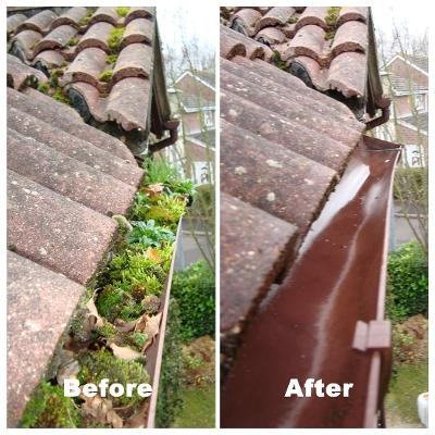 gutter cleaning spalding